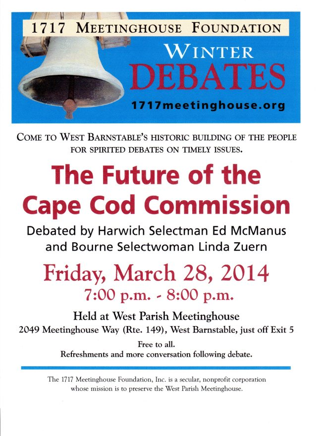 Cape Cod Commission WIthdrawal Debate