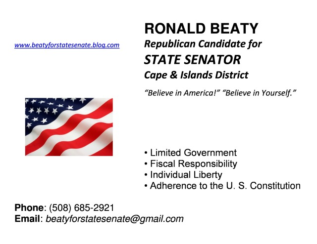 Ron Beaty for State Senator