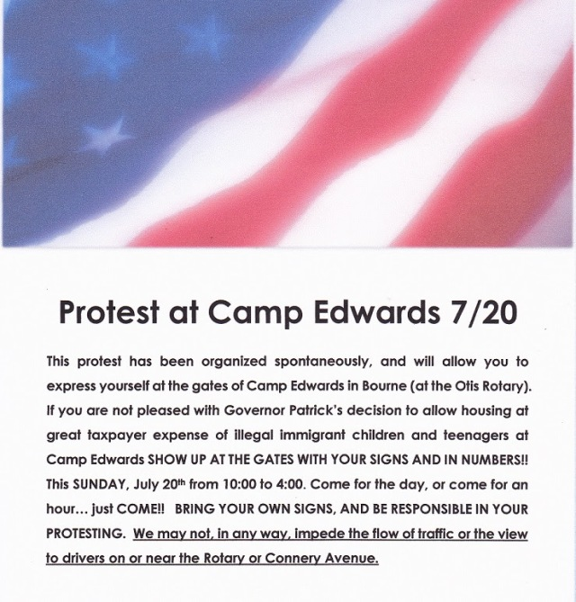 Camp Edwards Protest Info