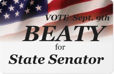 Beaty for State Senator